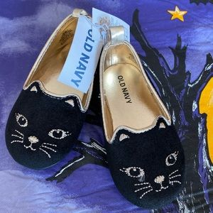 🎉NWT🎉 Black kitten ballerina flat! Adorable!!!